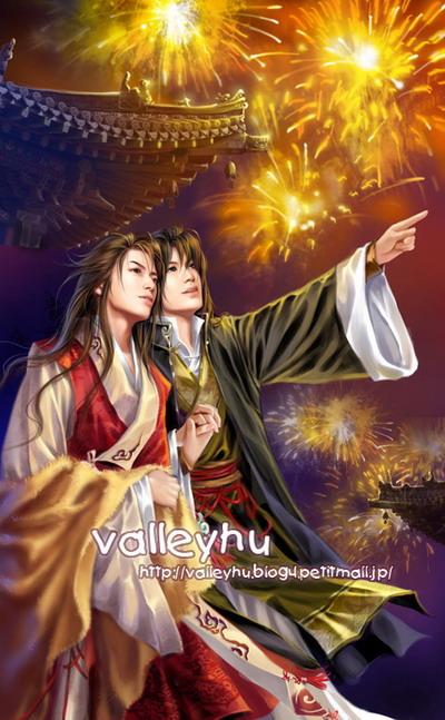 主题: 和卫风等合作过的插画家valleyhu的耽美小说插画