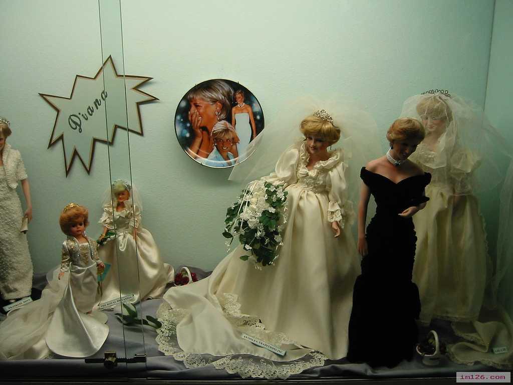 黛安娜王妃之玩偶娃娃