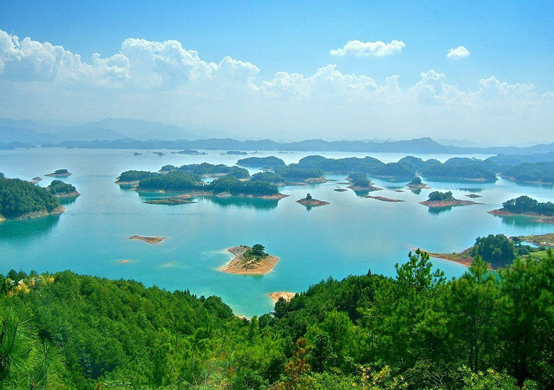 安徽千岛湖风景区