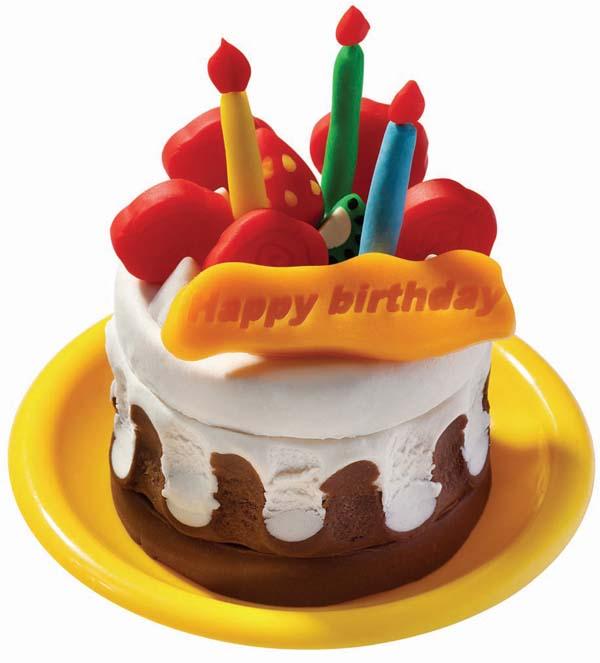 可爱彩泥小蛋糕图片